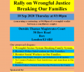 Rally on Wrongful Justice Breaking Our Families